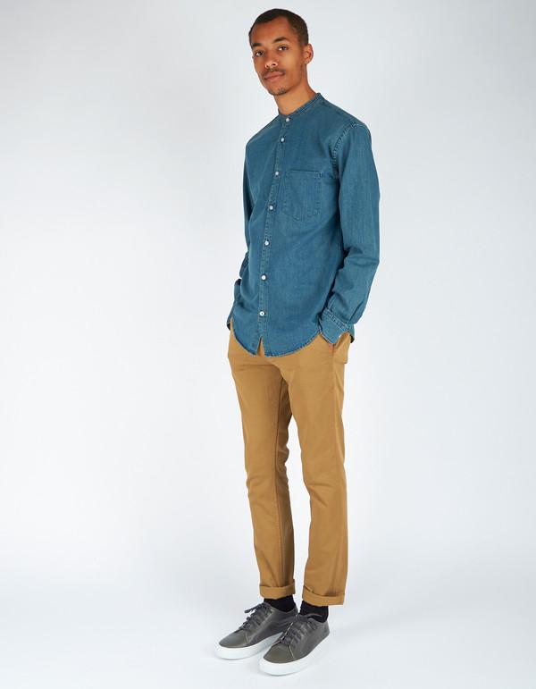 Men's No Nationality No Nationailty Devon Shirt Blue
