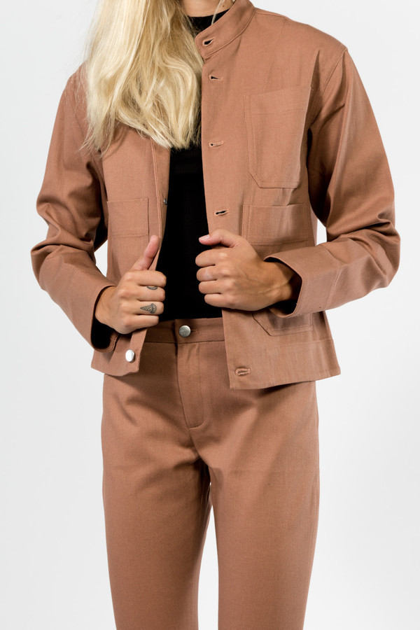 Nomia Cropped Work Jacket