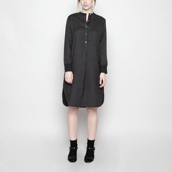 7115 by Szeki Fall Jumper Dress - Stripe FW16