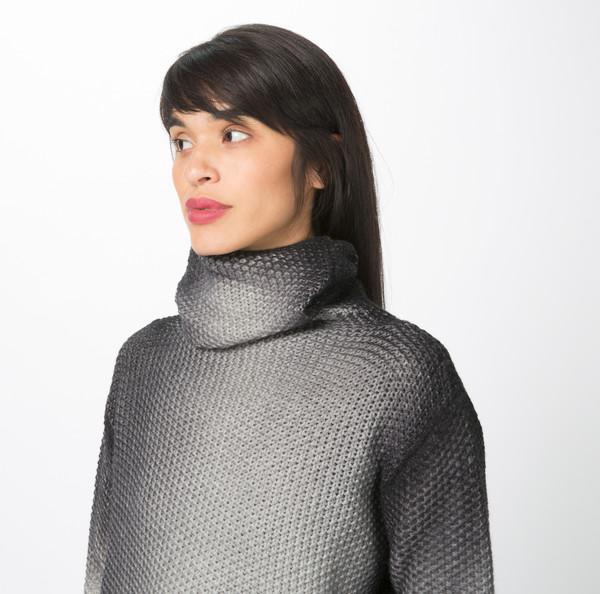 Avant Toi Painted Knit Turtleneck