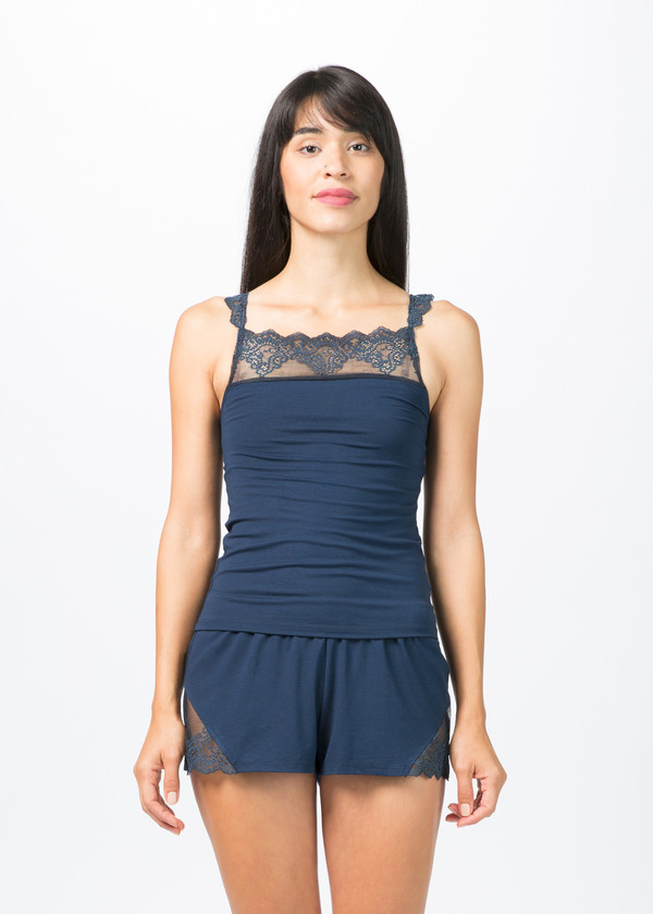 Only Hearts So Fine Sleep Shorts with Lace
