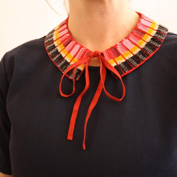 Rachel Antonoff lipstick on your collar