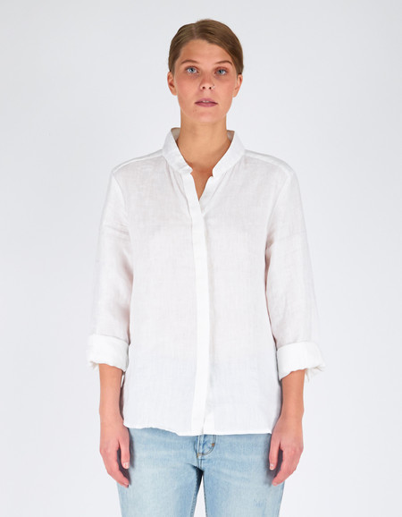 Assembly Label Still Shirt White