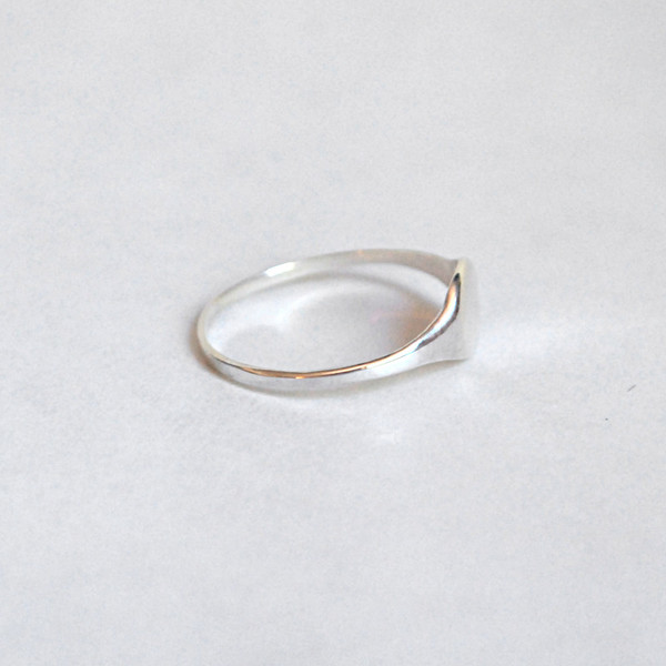 Drift/Riot Signet Ring - Silver