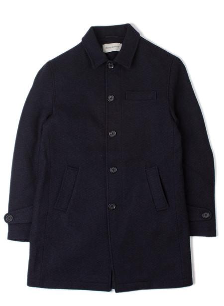 Men's Oliver Spencer Grandpa Coat Barrow Midnight