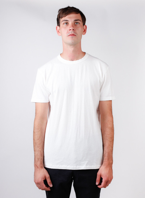 Our Legacy Perfect Tee White Army Jersey