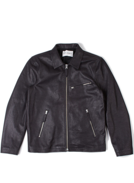 Men's Our Legacy Ton Up Jacket Black Oil