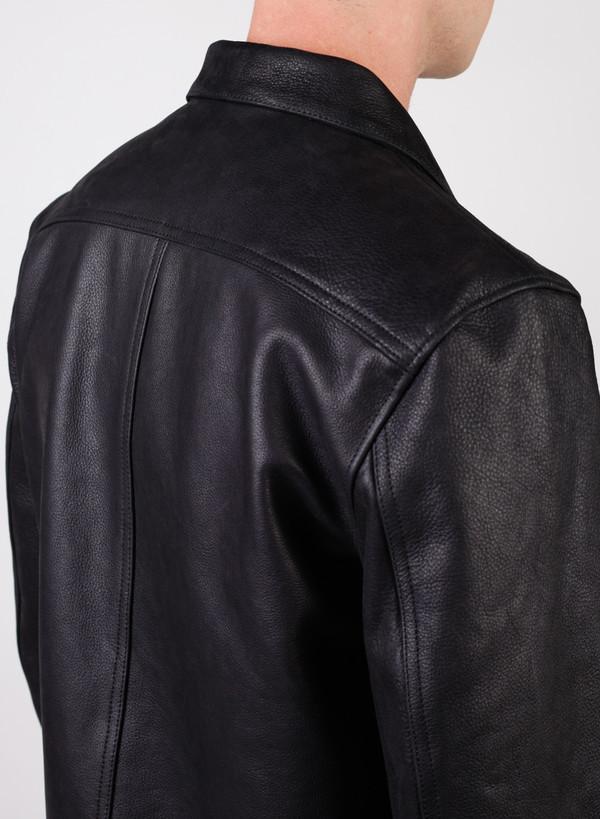 Men's Our Legacy Ton Up Jacket Black Oil