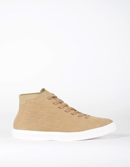 Native Shoes Native Monaco Mid Non Perf Rocky Brown Shell White
