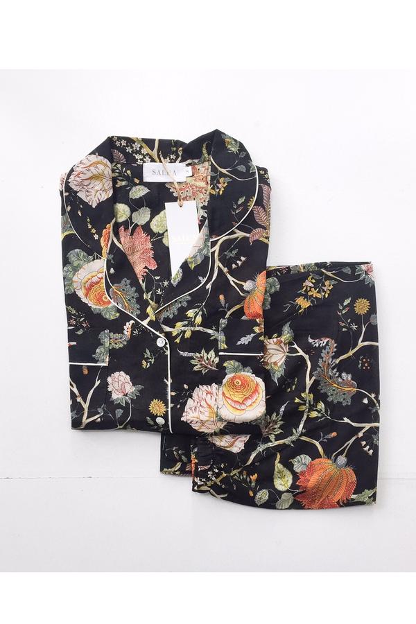 Salua Classic Cotton Print Pajamas