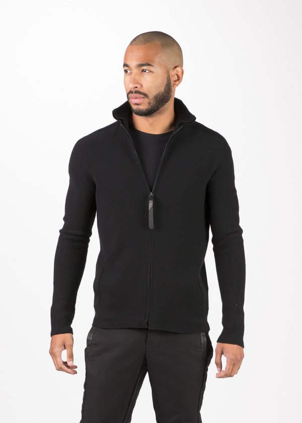 Men's Hannes Roether Nibbe Zip Sweater