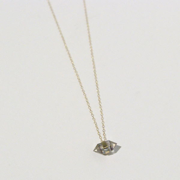BLTN Diamond Drop Necklace