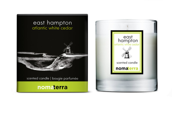 Nomaterra - Atlantic White Cedar Soy Candle (East Hampton)