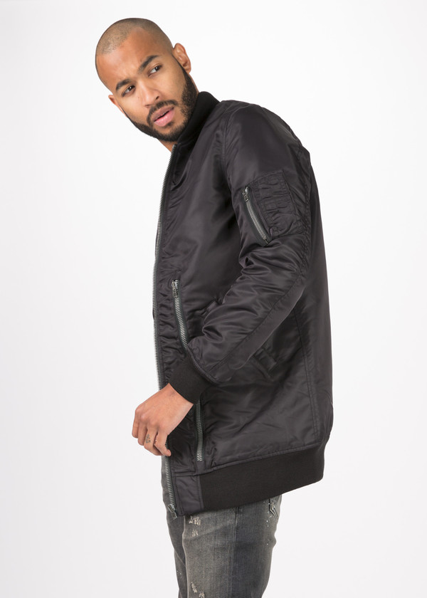 R13 Oversized Winter MA-1 Flight Jacket