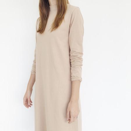 Han Starnes Nude Jersey Dress