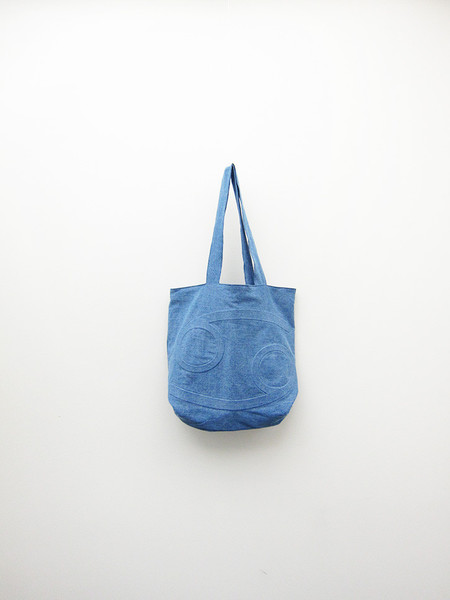 69 Tote, Medium Denim