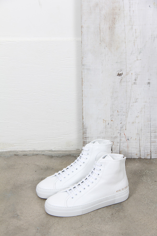 Common Projects TOURNAMENT HIGH SUPER WHITE
