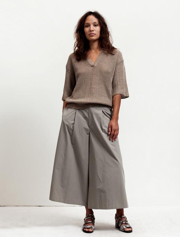Cristaseya Womens Cotton Pantskirt Khaki