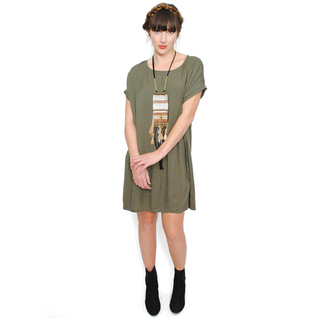 Curator Sunny Dress - Olive