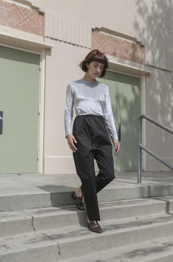 Baserange Azour Highwaist Pant in Black
