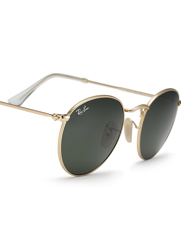 Ray-Ban Ray Ban Round Metal Sunglasses Arista