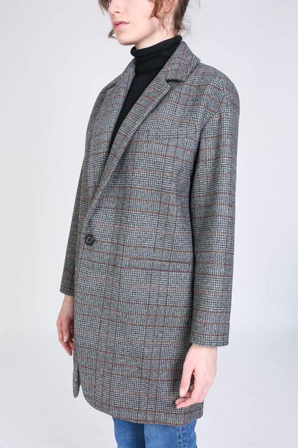 Creatures of Comfort Nicolas jacket in harris tweed
