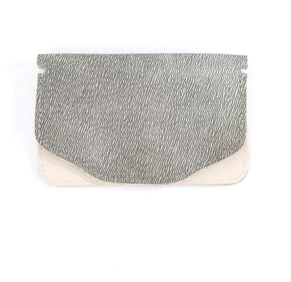 Shana Luther - Silver Mini Wallet