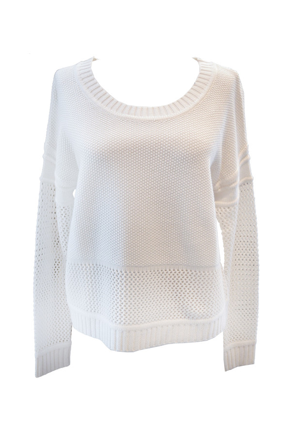 Splendid - Mesh Mix Pullover Sweater