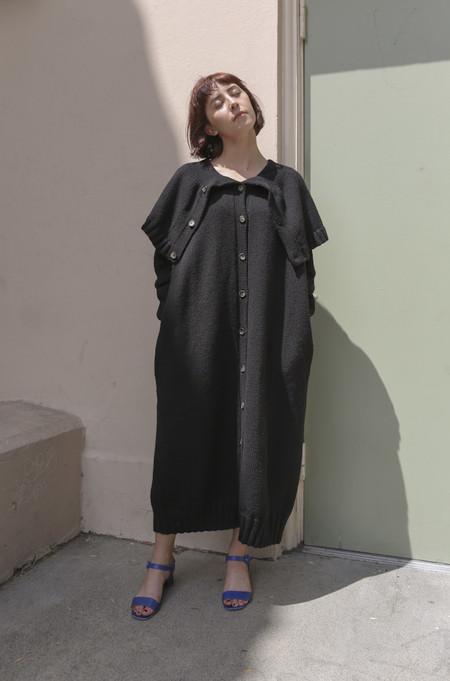 A Détacher Kitty Sweater Dress in Black