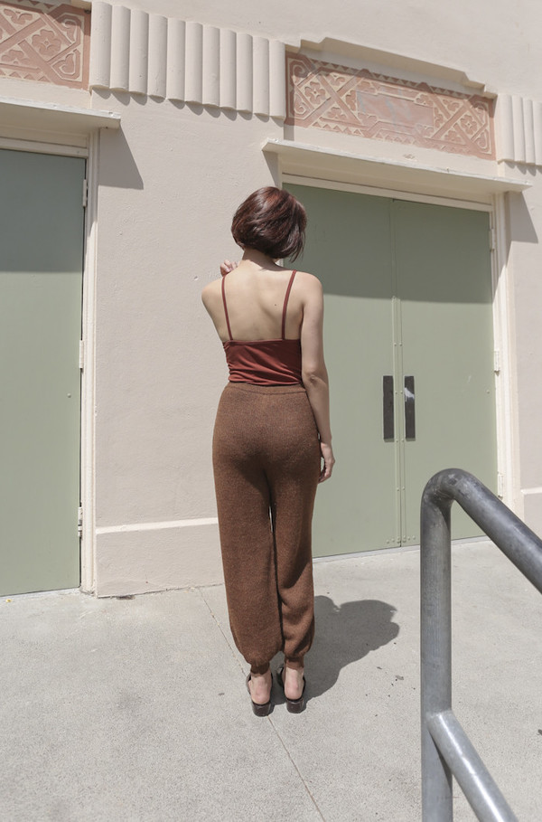 A Détacher China Pant in Rust