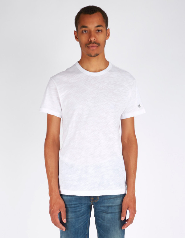 Men's Todd Snyder x Champion Basic Tee White