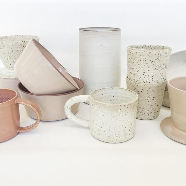 Alexandria Cummings Large Ivory Vase