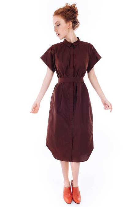 Kowtow Journey Dress (Brick)