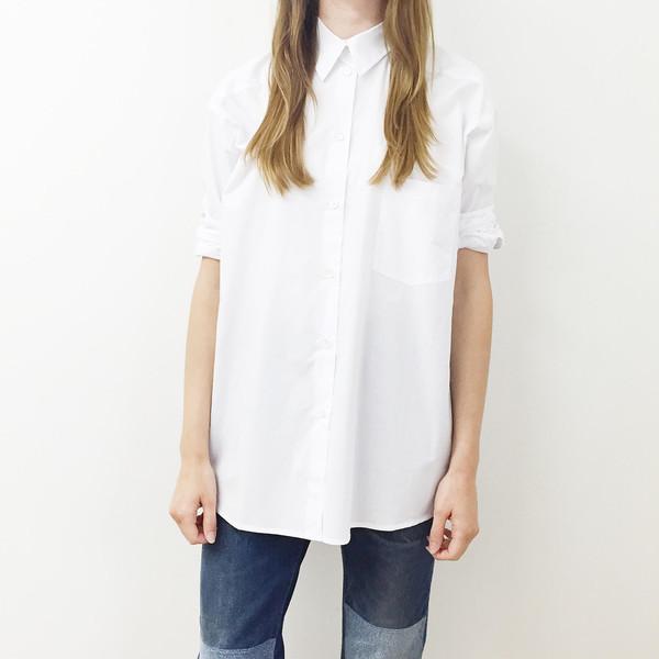 Sherie Muijs Shirt No. 18 - Chalk