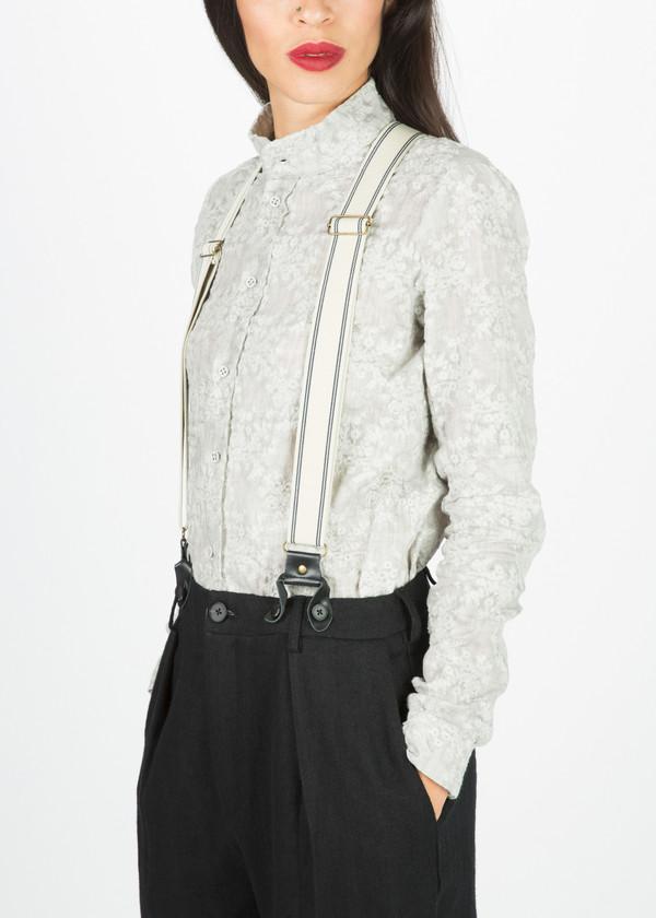 Aleksandr Manamis Belted Trouser
