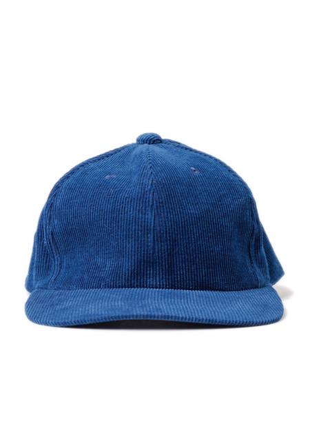 Blue Blue Japan Woven Blue Hand Dyed Corduroy Baseball Cap