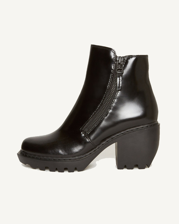 Opening Ceremony Grunge Zip Booties