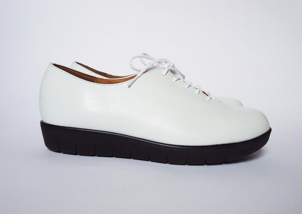 HOPP White Nappa Essential Oxford