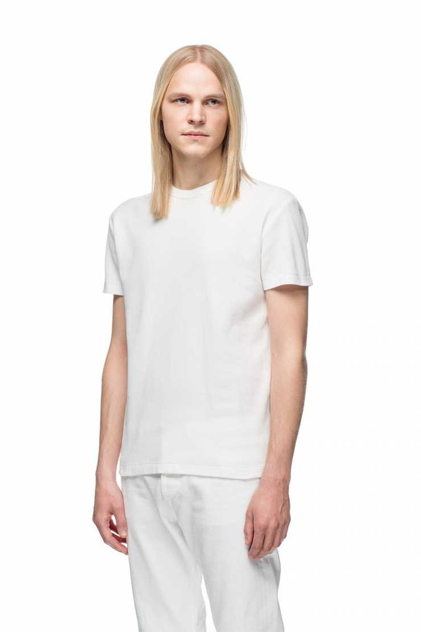 Men's OUR LEGACY - Perfect Tee White Crepe