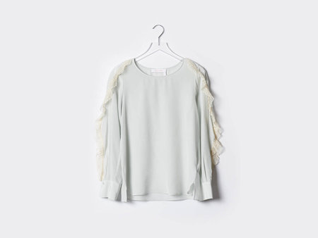 See By Chloe Ruffle Sleeve Blouse