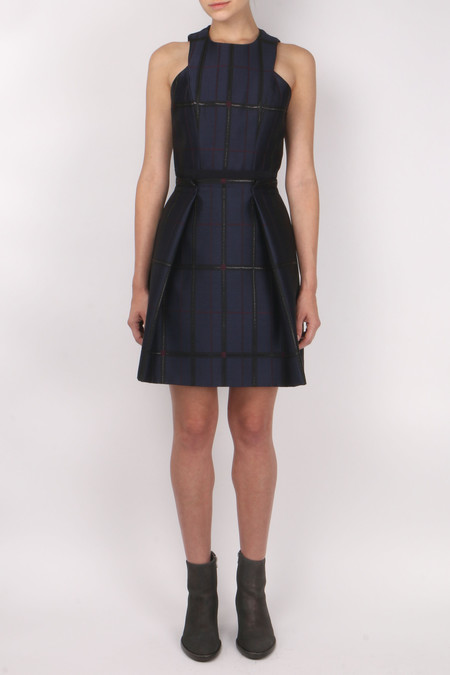 Carven Flannel Dress