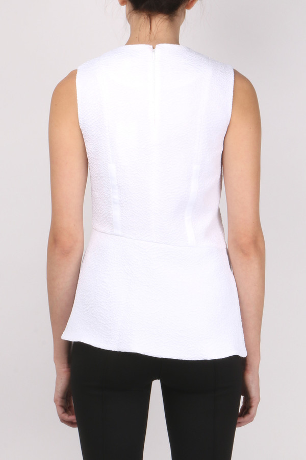 Carven Fluid Sleeveless Top
