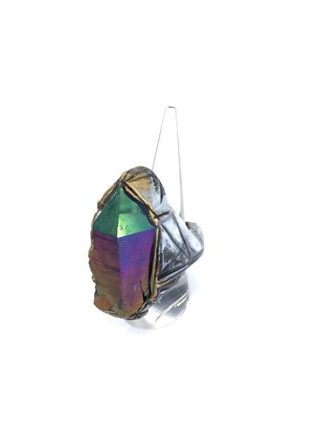 Adina Mills Irradiated Quartz Ring