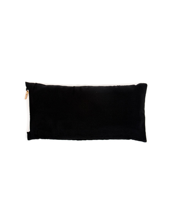Chay Silk Eye Pillow in Black
