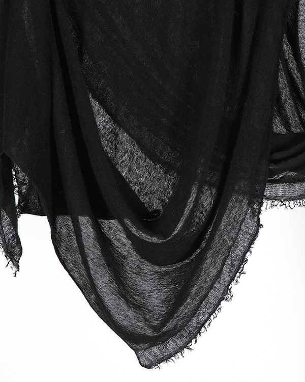 Grisal Love Cashmere Scarf in Black