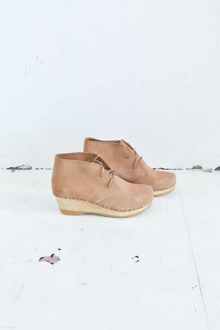 No. 6 Garcia Boot in Sand Suede
