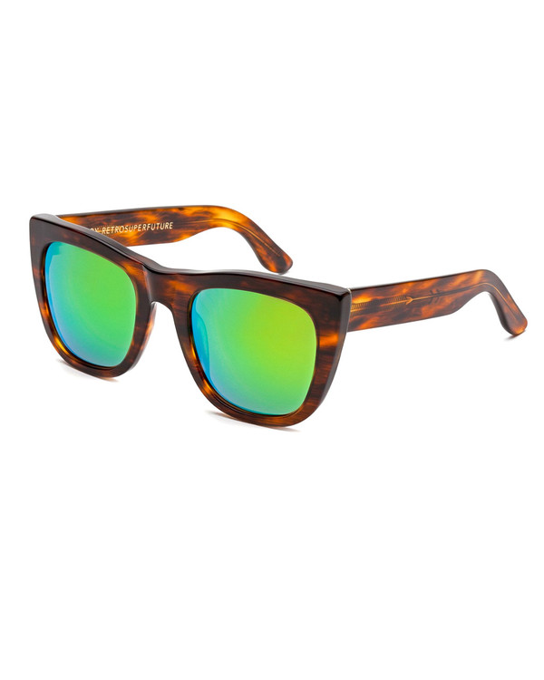 RetroSuperFuture Gals Cove Havana Sunglasses