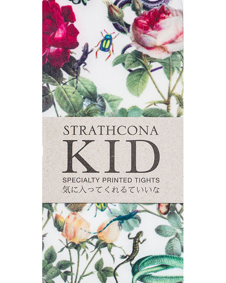 Strathcona Kids Snakes + Roses Tights