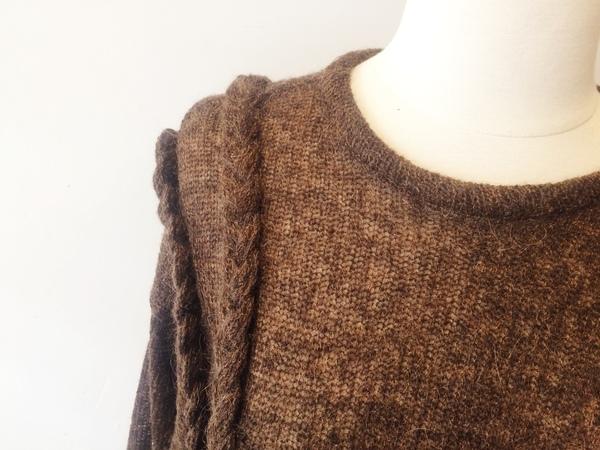 Eve Gravel Apes Sweater