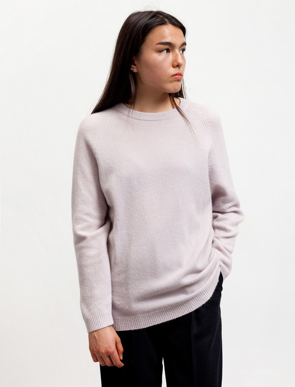 Norse Projects Womens Ajo Felt Dusty Lilac